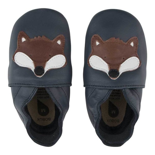 Babbucce Soft Sole Bobux Volpe Navy