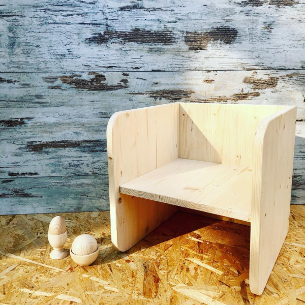"""Sedia Montessori 3 in 1 - La sedia che """"cresce"""" con il ..."""
